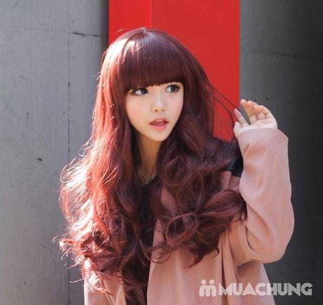 Tạo kiểu chuyên nghiệp + Nhuộm tóc cao cấp tại Fasiya Salon 74 Trung Hoà - 3