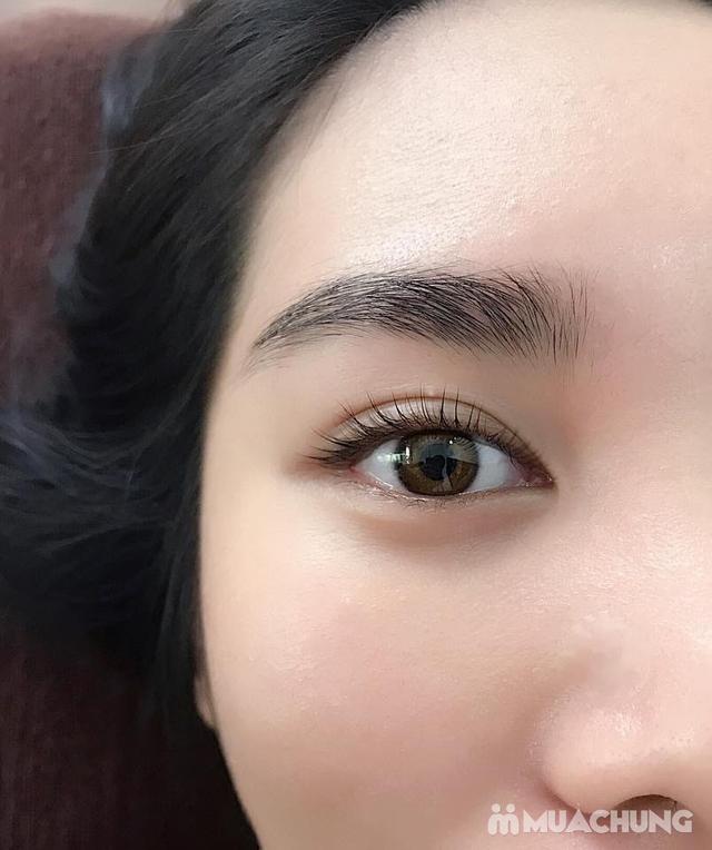 Combo Uốn mi colagen 6D + nhuộm đen hấp phủ bóng sợi tại Lilian Spa - Beauty & cosmetic - 16