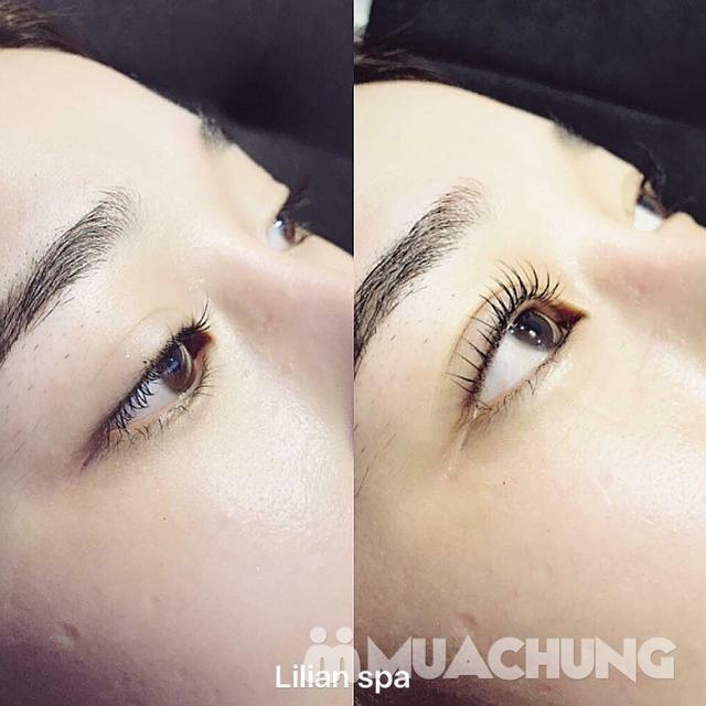 Combo Uốn mi colagen 6D + nhuộm đen hấp phủ bóng sợi tại Lilian Spa - Beauty & cosmetic - 12