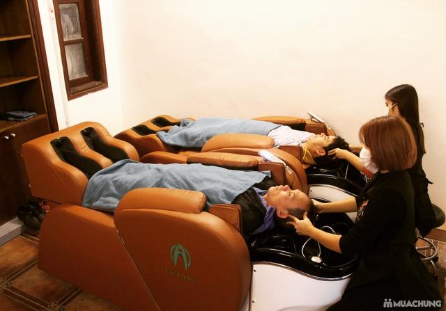 Dịch vụ Cắt + Gội dưỡng sinh + Sấy tạo kiểu tại Fasiya Salon 74 Trung Hoà - 9