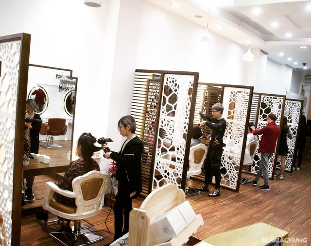 Tạo kiểu chuyên nghiệp + Nhuộm tóc cao cấp tại Fasiya Salon 74 Trung Hoà - 11