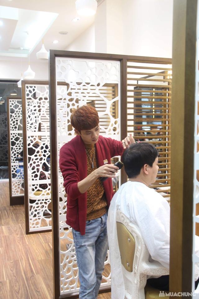 Tạo kiểu chuyên nghiệp + Nhuộm tóc cao cấp tại Fasiya Salon 74 Trung Hoà - 9