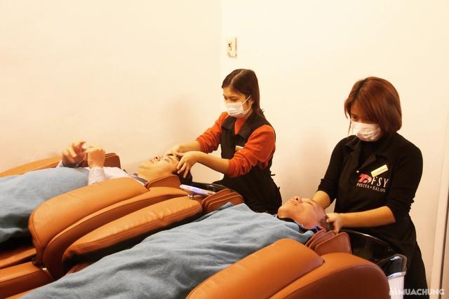 Dịch vụ Cắt + Gội dưỡng sinh + Sấy tạo kiểu tại Fasiya Salon 74 Trung Hoà - 6