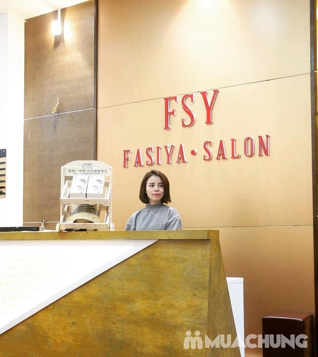 Dịch vụ Cắt + Gội dưỡng sinh + Sấy tạo kiểu tại Fasiya Salon 74 Trung Hoà - 10