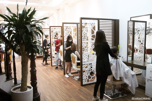 Tạo kiểu chuyên nghiệp + Nhuộm tóc cao cấp tại Fasiya Salon 74 Trung Hoà - 10