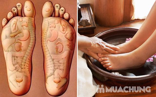 Combo 2 dịch vụ Massage chân +ngâm chân thảo dược tại Sun Spa - 12