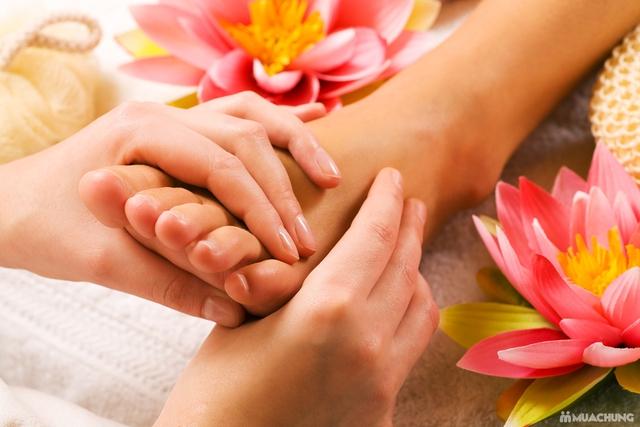 Combo 2 dịch vụ Massage chân +ngâm chân thảo dược tại Sun Spa - 10