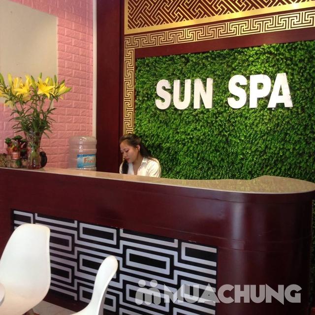 Thư giãn với liệu trình massage body và ngâm chân 75 phút tại Sun Spa - 23