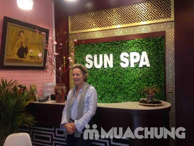 Thư giãn với liệu trình massage body và ngâm chân 75 phút tại Sun Spa - 24