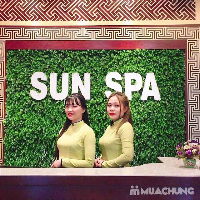 Thư giãn với liệu trình massage body và ngâm chân 75 phút tại Sun Spa - 16