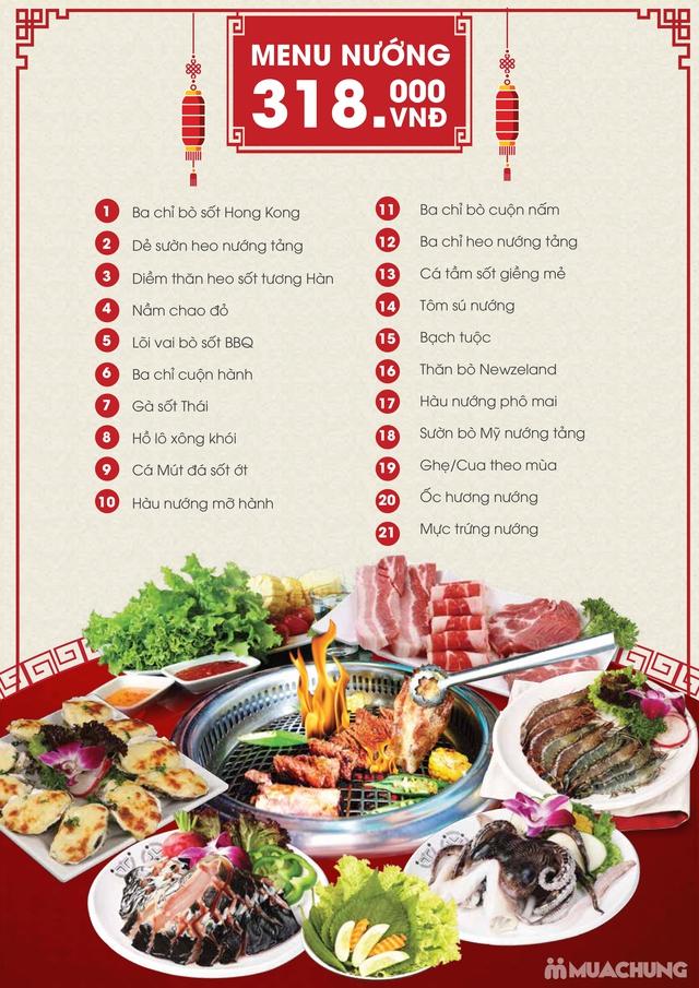 Buffet Hải Sản Nướng Lẩu Cao Cấp Menu VIP Tại Buffet BBQ & Hot Pot Hong Kong New - 17