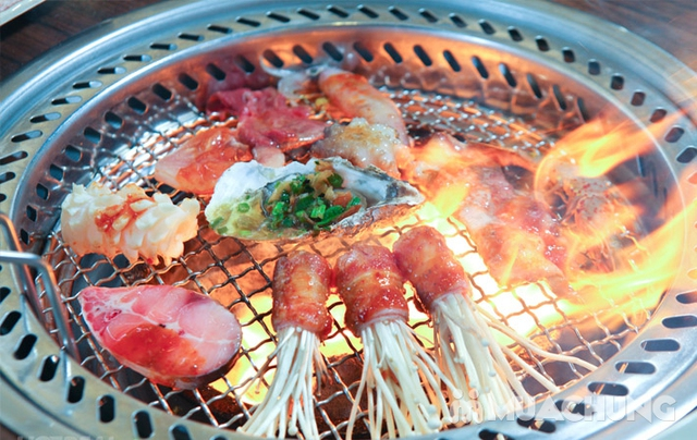Buffet Nướng Lẩu Hải Sản Tại Buffet BBQ & Hot Pot Hong Kong New - 14
