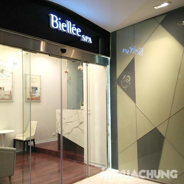 Liệu trình chăm sóc, phục hồi da bài bản kết hợp massage đả thông kinh lạc tại Biellee Spa - 4