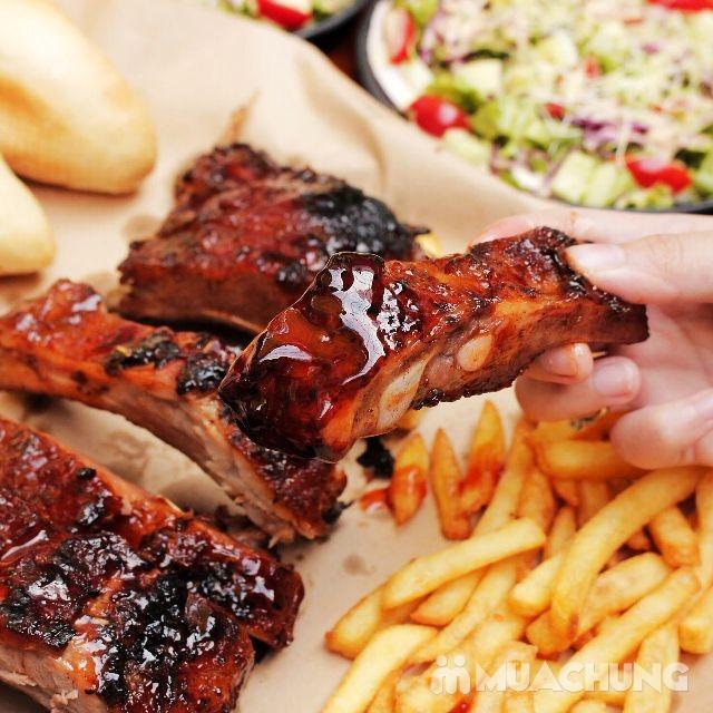 Combo BBQ Ribs thượng hạng tại Nhà hàng Wine & Steak House Hồ Tây - 11