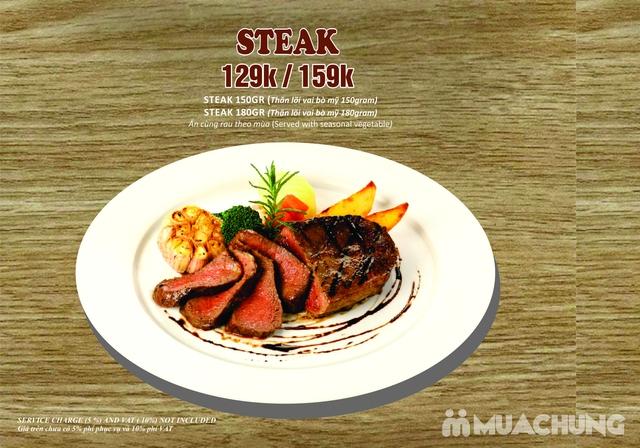 Combo Salmon hảo hạng dành cho 1 người tại Wine & Steak House Hồ Tây - 3