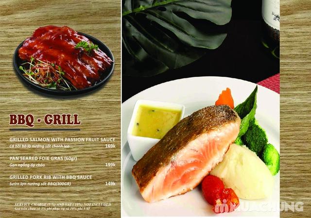 Combo Salmon hảo hạng dành cho 1 người tại Wine & Steak House Hồ Tây - 5