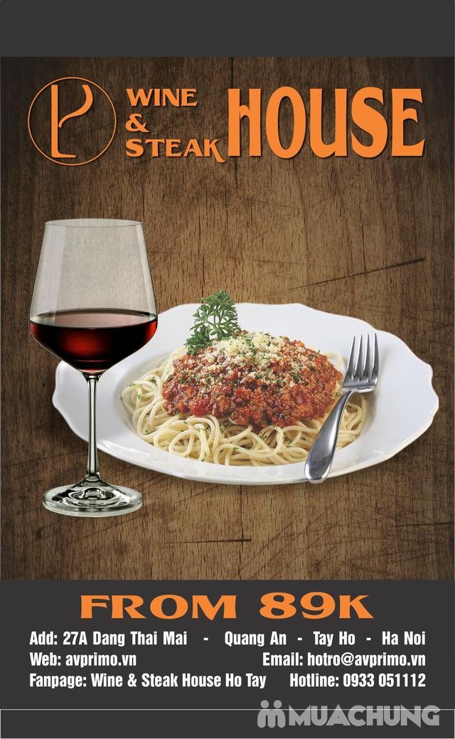 Combo Salmon hảo hạng dành cho 1 người tại Wine & Steak House Hồ Tây - 12