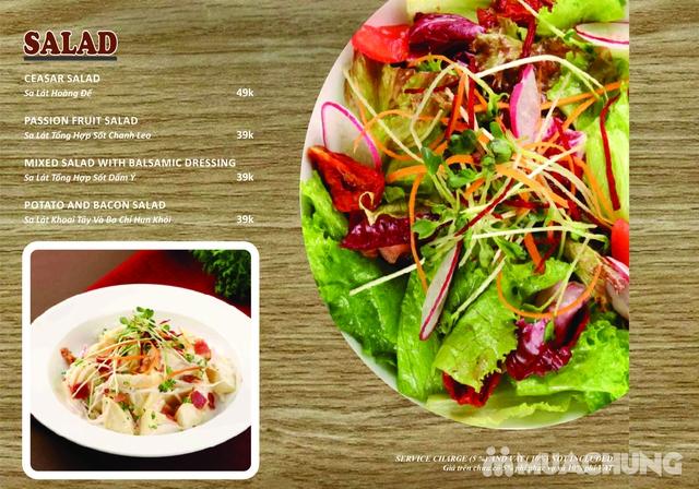 Combo Salmon hảo hạng dành cho 1 người tại Wine & Steak House Hồ Tây - 1
