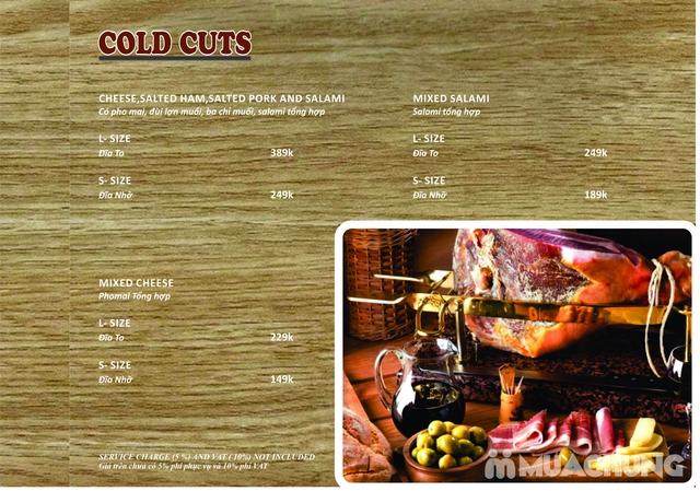 Combo Salmon hảo hạng dành cho 1 người tại Wine & Steak House Hồ Tây - 2
