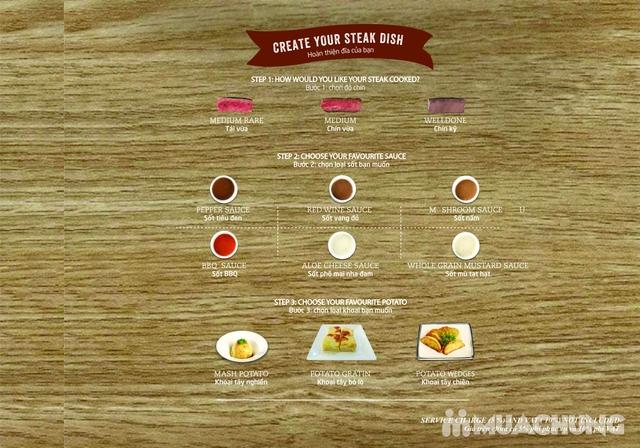 Combo Salmon hảo hạng dành cho 1 người tại Wine & Steak House Hồ Tây - 4
