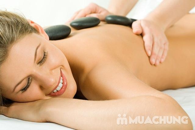 Combo 3 liệu trình:Massage body Thụy điển bấm huyệt + Thanh tẩy đậu đỏ + Làm sạch da mặt tại Aha Spa - 5