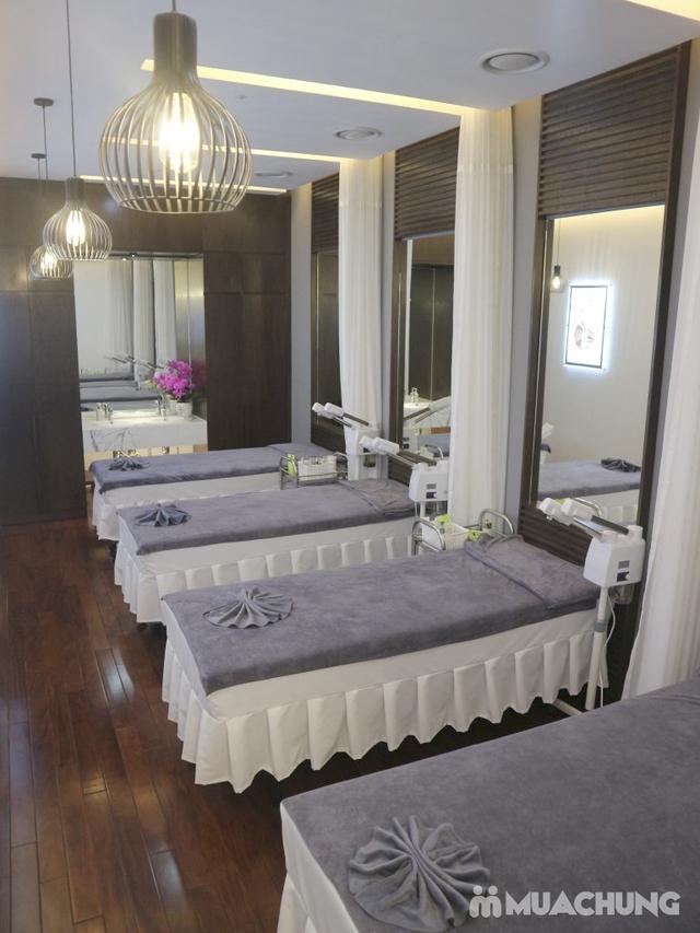 Liệu trình chăm sóc, phục hồi da bài bản kết hợp massage đả thông kinh lạc tại Biellee Spa - 11