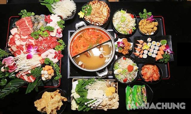 Butffet lẩu Nhật ăn thả ga đủ món ngon hấp dẫn tại Nhà hàng Ten Sushi - 18