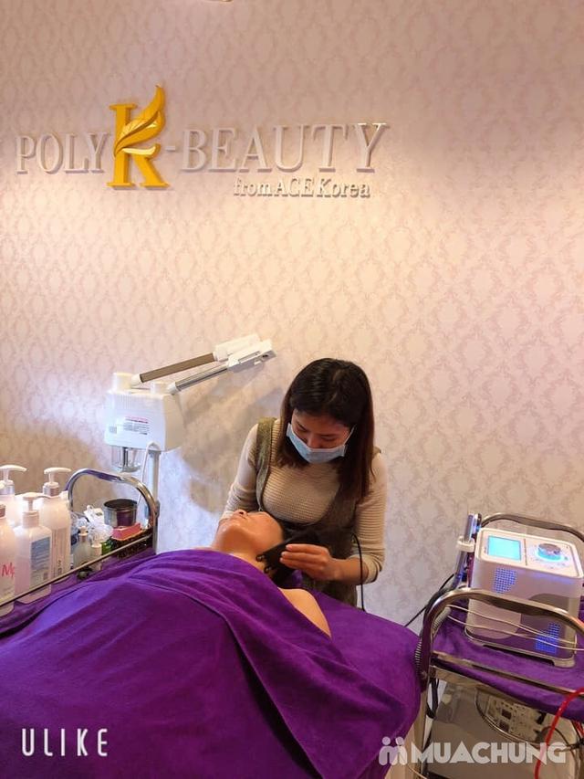 Ủ trắng da mặt với ngọc trai và Vitamin C tại Poly K Beauty Spa - 12
