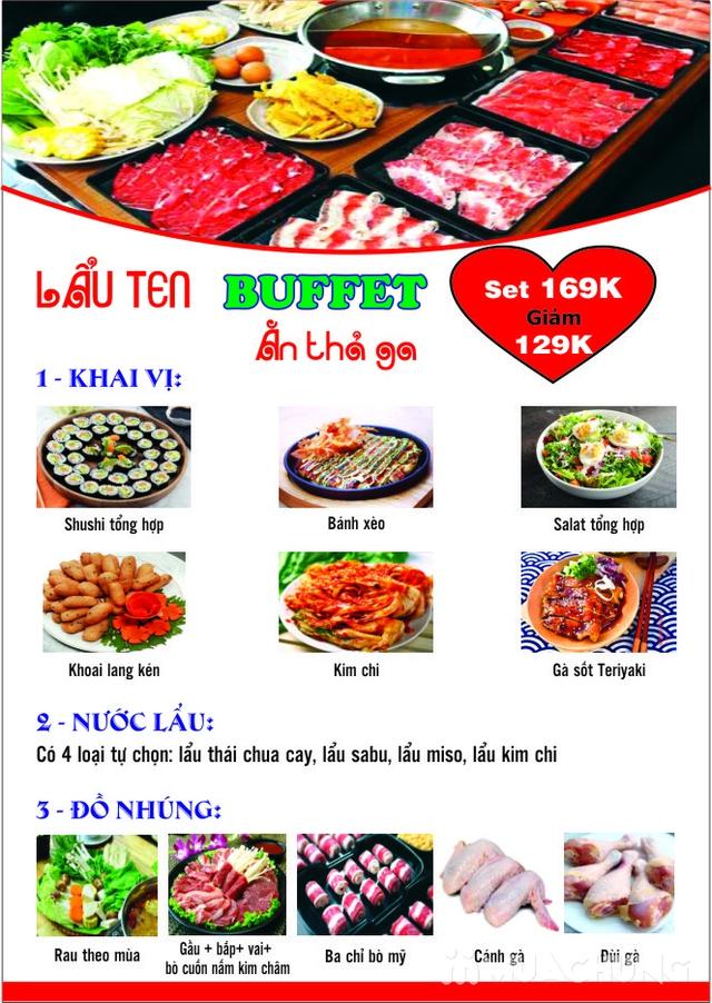 {Chỉ 109K} Butffet Lẩu Nhật ăn thả ga tại nhà hàng Ten Sushi  - 31