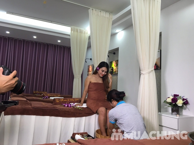 Massage thư giãn & đắp mặt nạ thảo dược cho mẹ bầu tại Mom & Baby Spa - 9