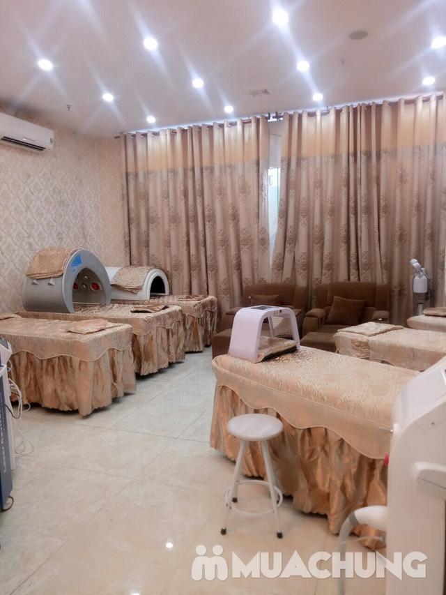 Trị mụn Đông Y kết hợp công nghệ đèn Omega tại Spa and salon Bình Minh - 1