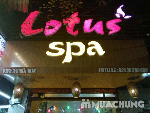Combo 2 dịch vụ massage body và ngâm chân thảo dược tại Lotus Spa - 5