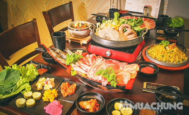 Thưởng thức thịt nướng chuẩn Hàn Quốc King Set 1 tại Nhà hàng CHUBIN BROTHERS  - 22
