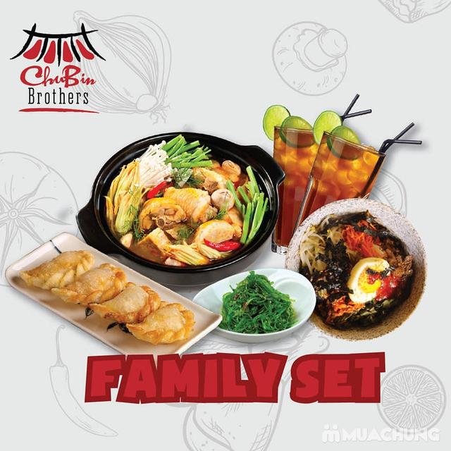 Tận hưởng hương vị ẩm thực Hàn Quốc với Family Set tại nhà hàng CHUBIN BROTHERS  - 10