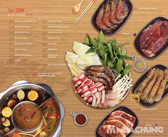 Thái BBQ Time City) - Buffet Nướng Lẩu Hương Vị Thái Lan Menu 288K - 14