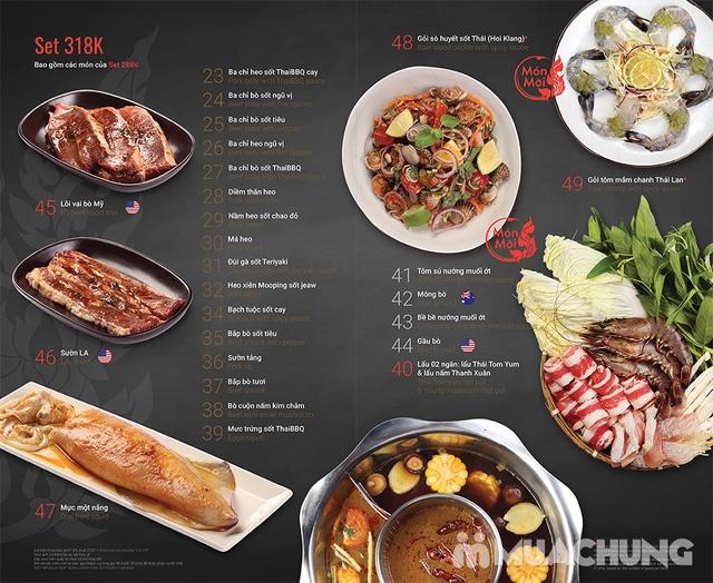 Thái BBQ Time City - Buffet Nướng Lẩu Thái Lan Menu VIP - 13