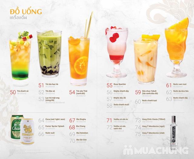 Thái BBQ Time City - Buffet Nướng Lẩu Thái Lan Menu VIP - 14