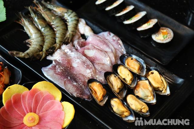 PP's BBQ & HOTPOT: Buffet Nướng Hải sản, Bò Mỹ tươi ngon hảo hạng - 25