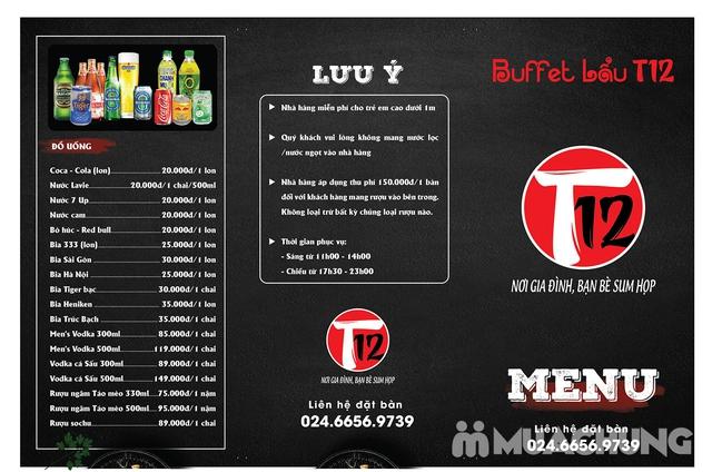 Buffet lẩu bò Mỹ ăn không phải nghĩ tại Buffet Lẩu T12 - 1