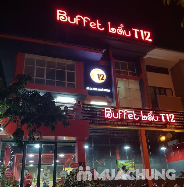 Buffet lẩu bò Mỹ ăn không phải nghĩ tại Buffet Lẩu T12 - 7
