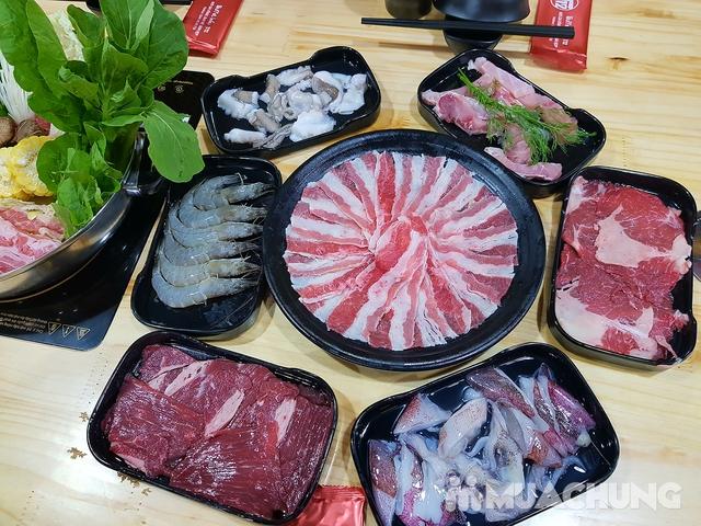 Buffet lẩu bò Mỹ + hải sản chỉ 129K ăn không giới hạn tại Buffet Lẩu T12 - 1