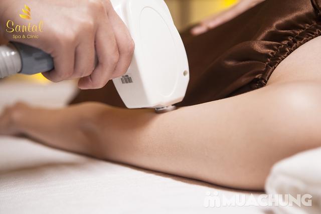 Trọn gói triệt lông 1/2 tay (06 buổi) – Bảo Hành 6 tháng tại Santal Spa - Khách sạn Hillton - 7