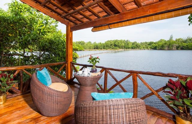 Chez Carole Resort Phú Quốc 4* 2N1Đ - Phòng Deluxe Bungalow River View - 2