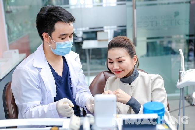 Khám nha khoa tổng quát + lấy cao răng + đánh bóng + Nhổ 1 răng khôn tại Nha khoa Singapore Aesthet - 1