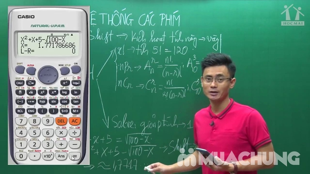 Học giải Toán bằng casio từ con số 0 tại Hệ thống giáo dục trực tuyến HỌC MÃI - 7