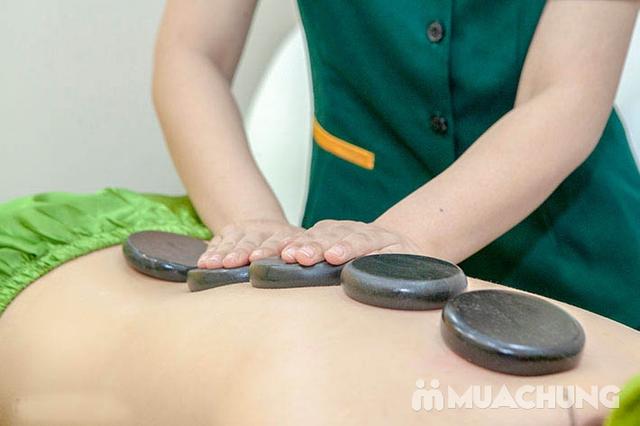 Liệu trình hỗ trợ điều trị thoái hóa đốt sống cổ  (Tặng Ngâm Chân + Đá Muối Chân) - Golden Moon Spa - 25