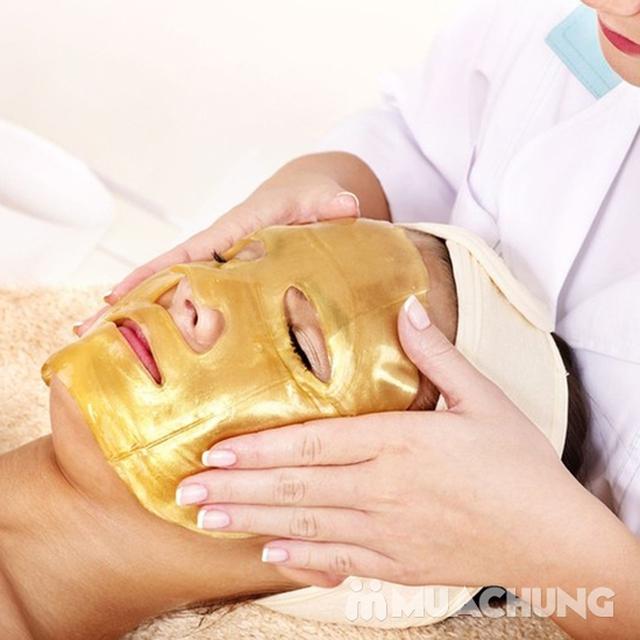 Trẻ hóa da mặt bằng công nghệ ánh sáng và mặt nạ vàng sâm 24K tại Học viện Mỹ Nhân - 3