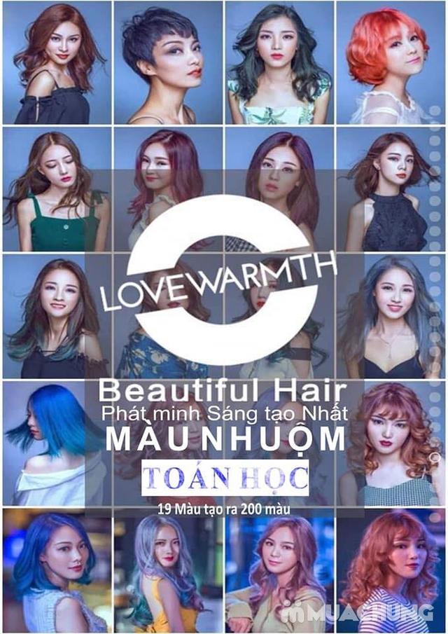 Cắt + Hấp thuỷ phân Nano Protein tươi hoặc nhuộm toán học công nghệ Đức - London Hair Dressing - 15