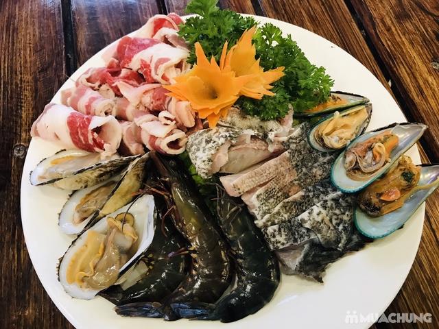 Set Lẩu hải sản tươi sống dành cho 6 người cực hấp dẫn tại - 5