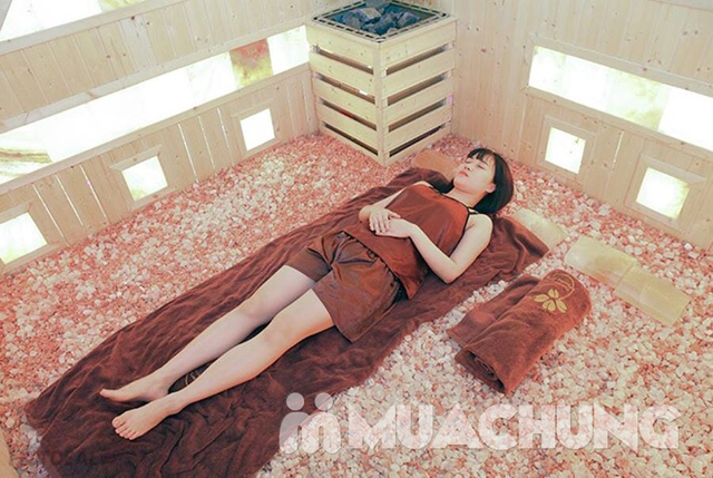 Xông hơi đá muối Himalaya + xông hơi thảo dược tại Phương Đông Massage - 2